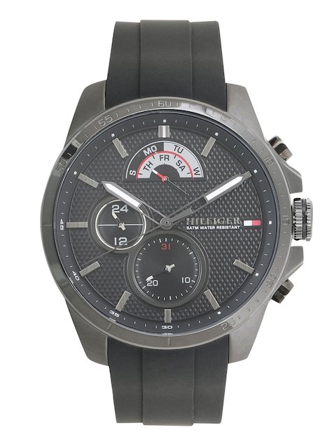 Tommy Hilfiger Men Black Analogue Watch TH1791352