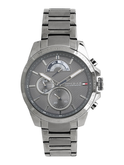 Tommy Hilfiger Men Grey Analogue Watch TH1791347