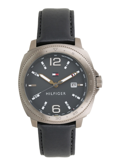 Tommy Hilfiger Men Charcoal Grey Analogue Watch TH1791429