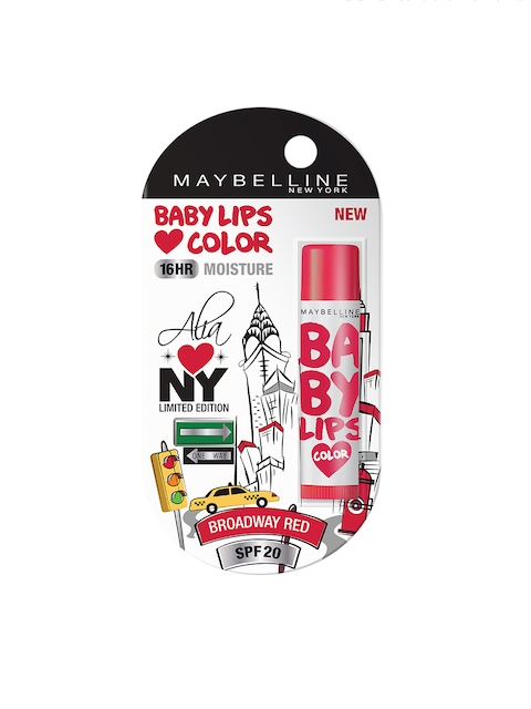 Maybelline Broadway Red Alia Loves New York Baby Lips 4g