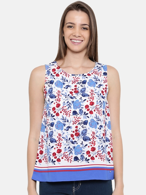 Tommy Hilfiger Women Multicoloured Printed Top