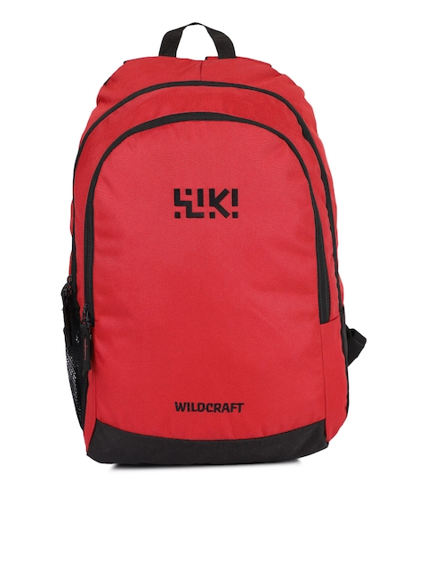 Wildcraft Unisex Red Wiki Axis Backpack