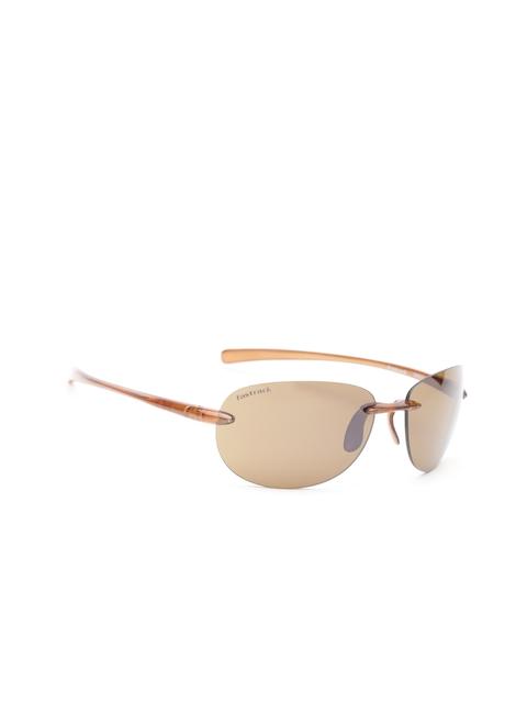 Fastrack Men Rimless Oval Sunglasses NBR053SL2