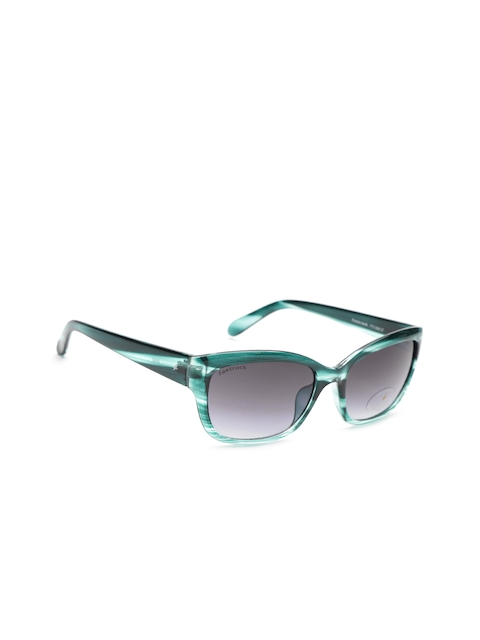 Fastrack Women Rectangle Sunglasses NBP313BK1F