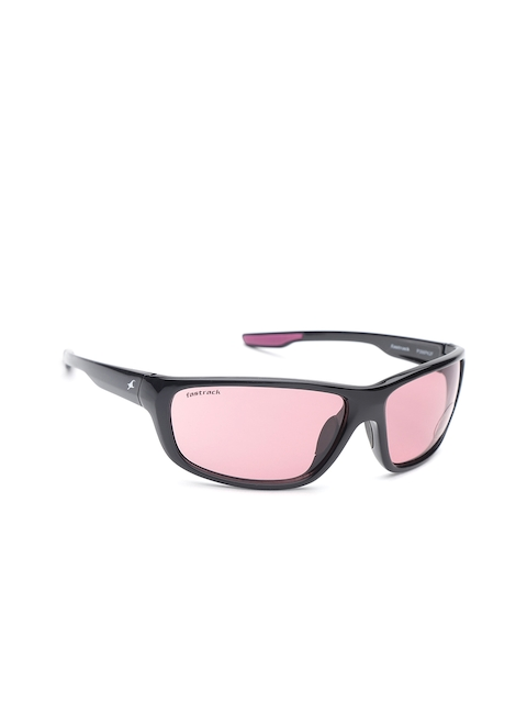 Fastrack Women Rectangle Sunglasses NBP398PK2F
