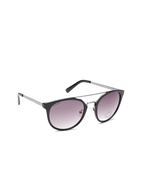 Fastrack Men Oval Sunglasses NBC090BK1
