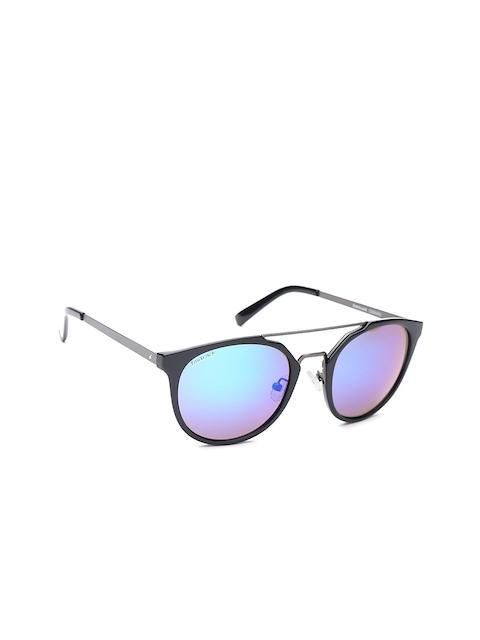 Fastrack Men UV Protected Oval Sunglasses NBC090GR2