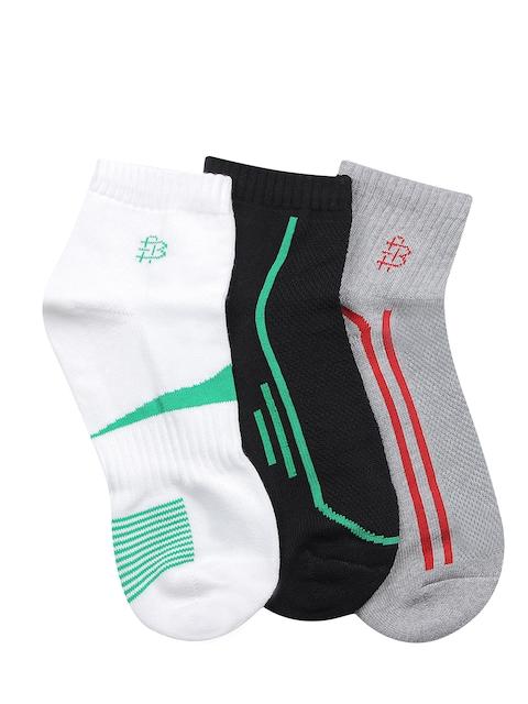 Bonjour Men Set of 3 Ankle-Length Socks