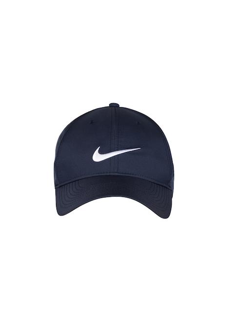 Nike Unisex Navy Blue Solid Baseball Cap