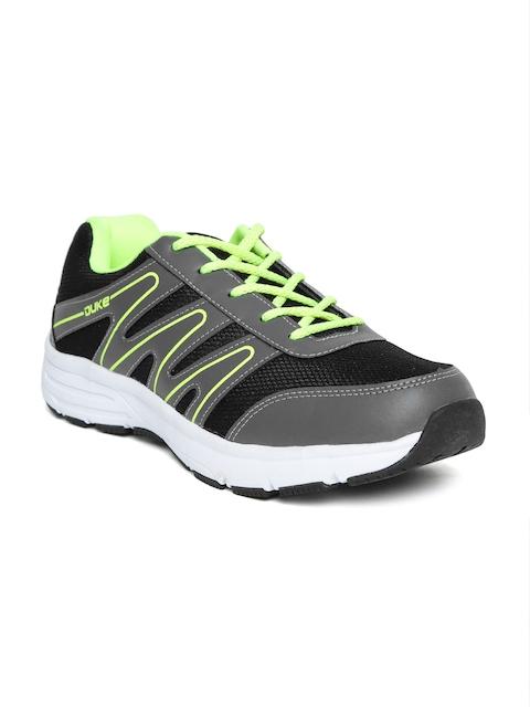 duke black running shoes