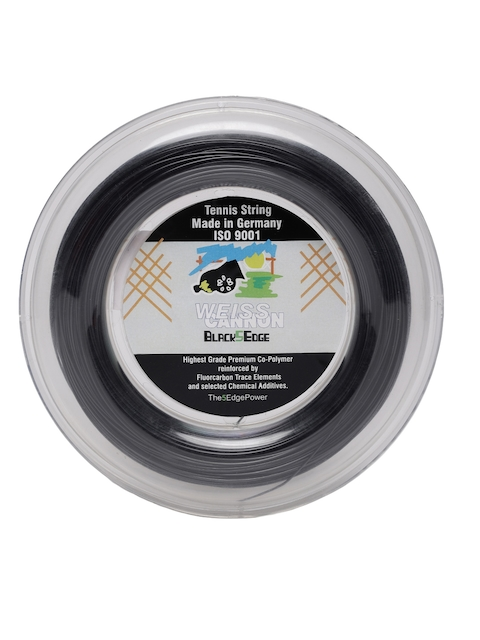 Weiss Cannon Unisex Black 5 Edge 17 1.24 mm Tennis String Reel