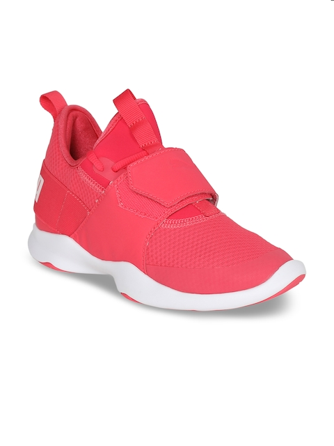 Puma Girls Pink Dare Trainer Jr Shoes