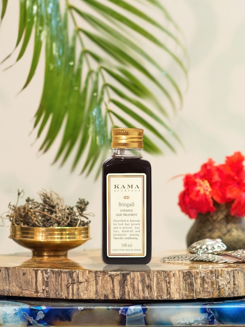 KAMA AYURVEDA Unisex Bringadi Intensive Hair Treatment Oil 100 ml