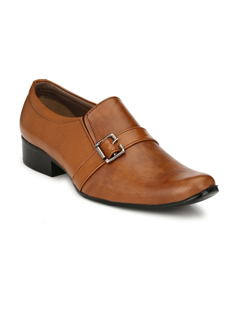 Sir Corbett Tan Formal Slip-On Shoes