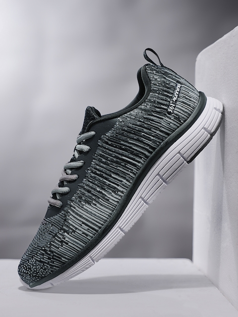 361 Degree Men Grey Performance Running Shoes