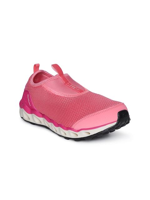 361 Degree Women Pink Outdoor Trekking Shoes