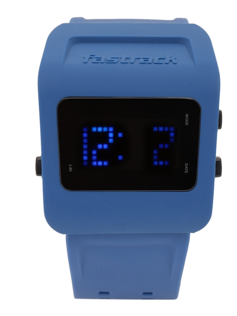 Fastrack Men Black Digital Watch 38011PP02J