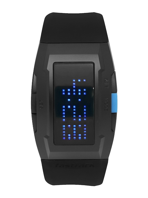 Fastrack Men Black Digital Watch 38014PP01J