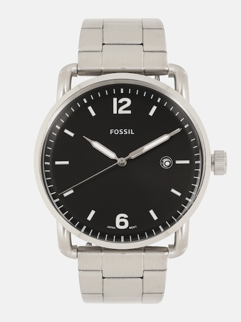 Fossil Men Black Analogue Watch FS5391I_OR