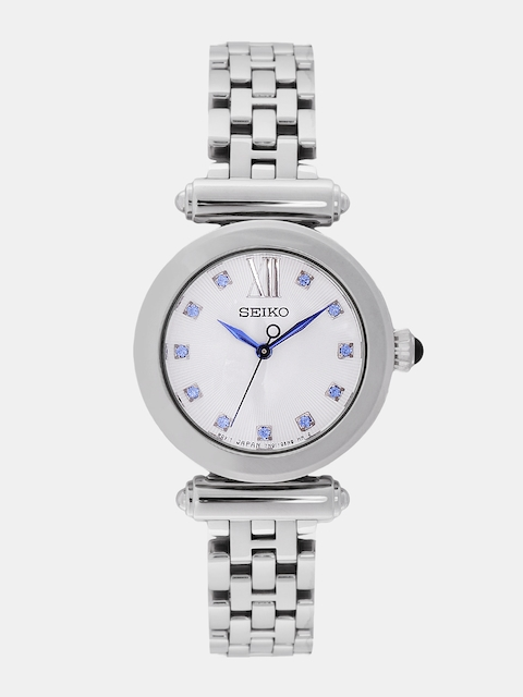 SEIKO Women Silver-Toned Analogue Watch SRZ399P1_OR