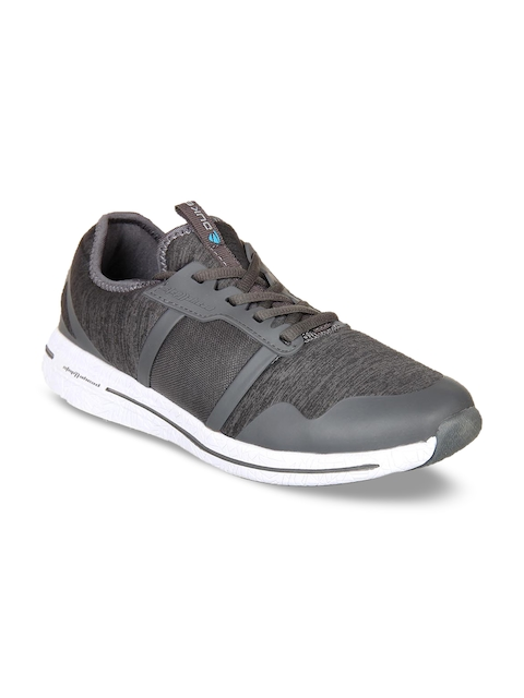 Duke Men Grey Walking Shoes