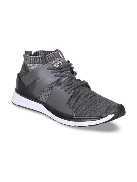Duke Men Grey Walking Shoes