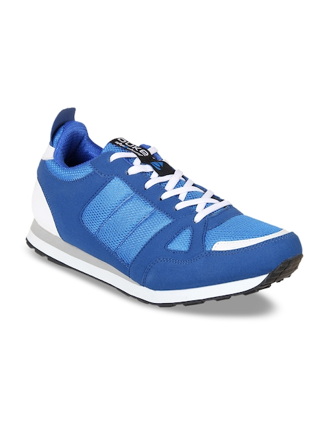Duke Men Blue Walking Shoes