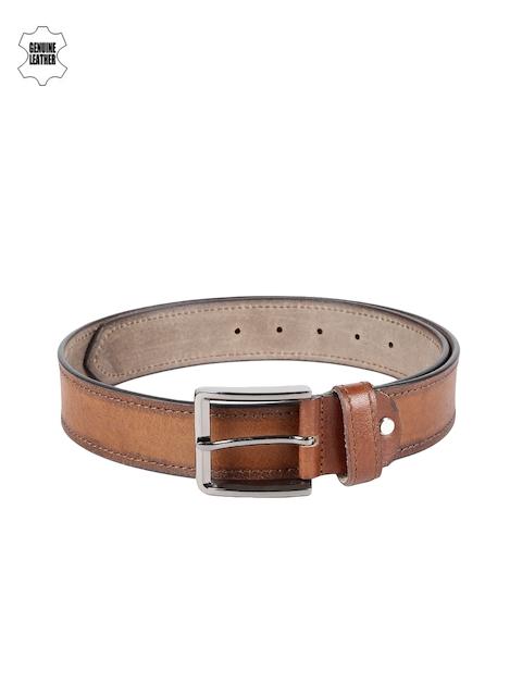 SPYKAR Men Brown Genuine Leather Belt
