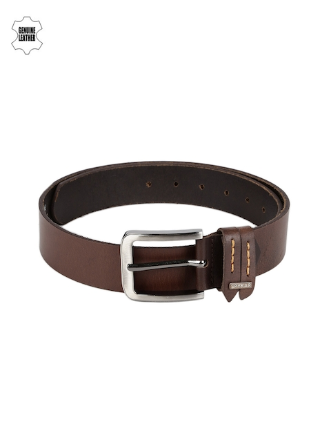 SPYKAR Men Tan Brown Genuine Leather Belt