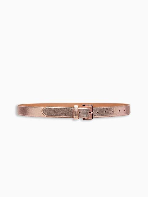 next Women Rose Gold-Toned Solid Belt