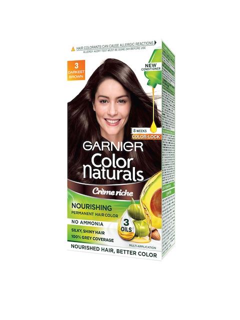 Garnier Women Darkest Brown Color Naturals Hair Color 3