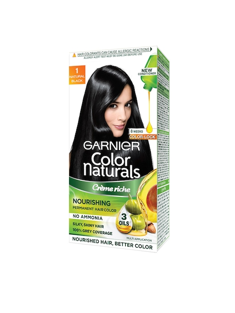 Garnier Women Natural Black Color Naturals Hair Color 1