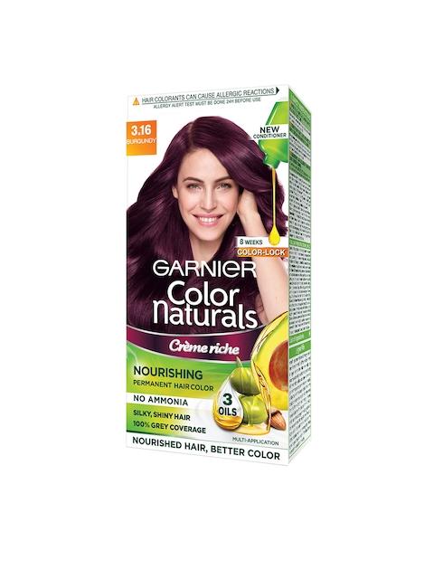 Garnier Women Burgundy Color Naturals Hair Color 3.16