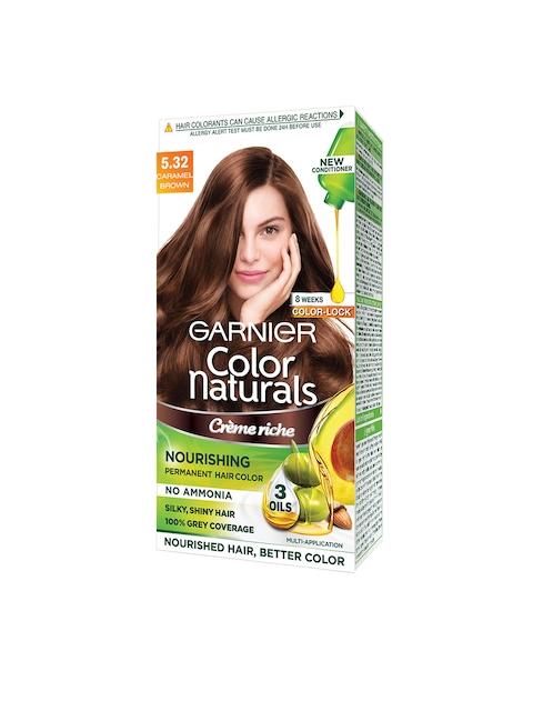Garnier Women Caramel Brown Color Naturals Hair Colour 5.32
