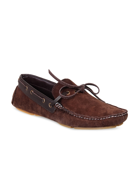Knotty Derby Men Brown Loafers