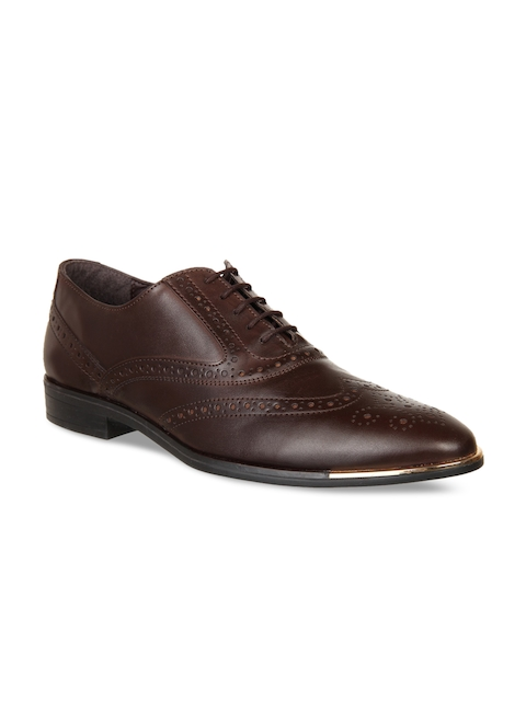 Knotty Derby Brown Brogue Formal Shoes
