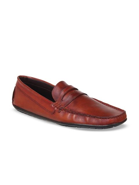 Knotty Derby Men Tan Loafers
