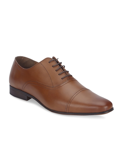 Red Tape Tan Oxford Formal Shoes