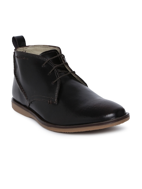 Ruosh Men Brown Flat Boots