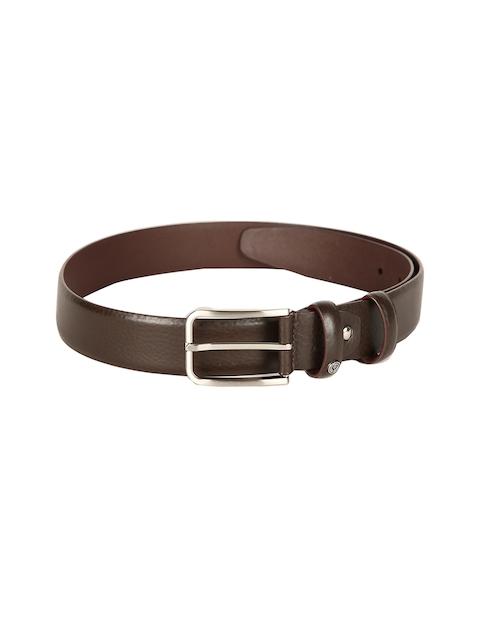 Allen Solly Men Brown Solid Belt