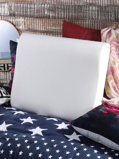 SWHF White Memory Foam Cervical Sleeping Orthopedic Pillow