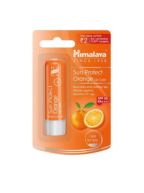 Himalaya SPF 30 Sun Protect Orange Lip Care 4.5 g