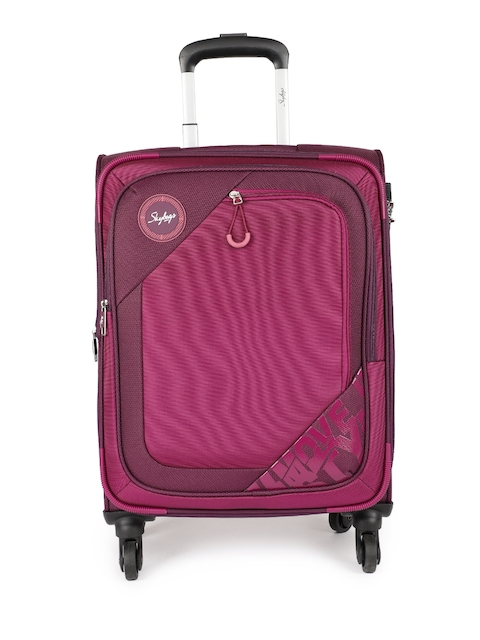 Skybags Unisex Purple ZUMBA 4W EXP STR 58 Cabin Trolly Bag