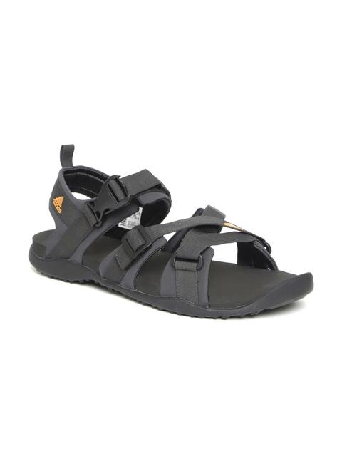 Adidas Men Charcoal Grey Gladi Sports Sandals