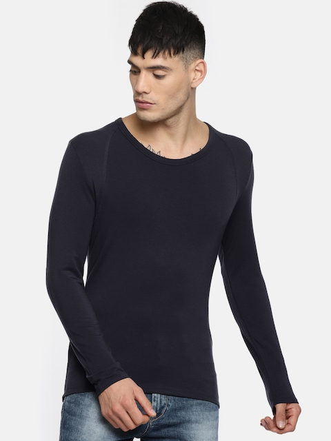 Calvin Klein Innerwear Blue Thermal Top
