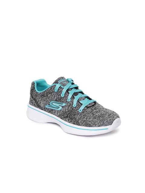 Skechers Girls Grey Walking Shoes