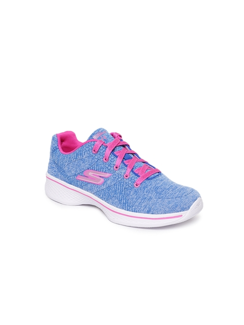 Skechers Girls Blue Sneakers