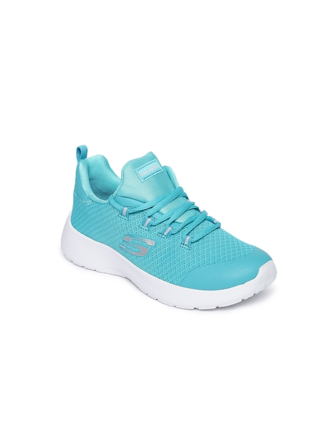 Skechers Girls Teal DYNAMIGHT Training Shoes