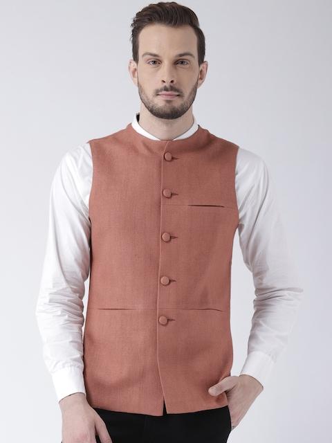 Kisah Rust Brown Bhagalpur Nehru Jacket