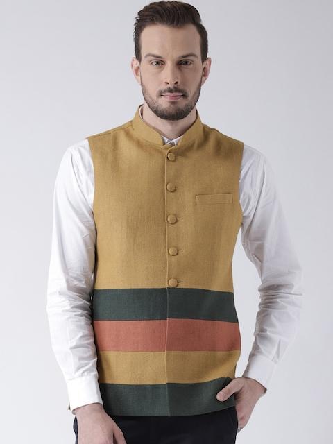 Kisah Beige Bhagalpur Nehru Jacket